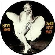 """Elton John Candle In The Wind UK 7"""" picture disc"""