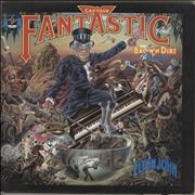 Click here for more info about 'Elton John - Captain Fantastic - Complete - EX'