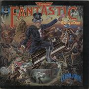 Click here for more info about 'Elton John - Captain Fantastic - Purple/Blue Vinyl'