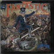 Click here for more info about 'Elton John - Captain Fantastic - Red Vinyl'