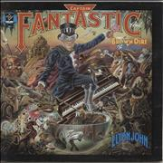 Click here for more info about 'Elton John - Captain Fantastic + Booklets - Red - EX'