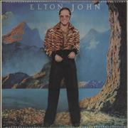 Click here for more info about 'Elton John - Caribou - Blue Vinyl'