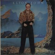 Click here for more info about 'Elton John - Caribou - Purple Vinyl - EX'