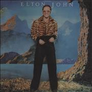 Click here for more info about 'Elton John - Caribou - Red Vinyl - EX'