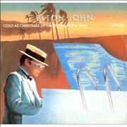 Click here for more info about 'Elton John - Cold As Christmas - matt sleeve'