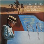 Click here for more info about 'Elton John - Cold As Christmas'
