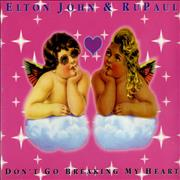 Click here for more info about 'Elton John - Don't Go Breaking My Heart'