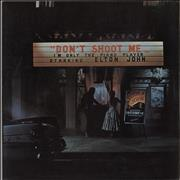 Click here for more info about 'Elton John - Don't Shoot Me - 1st - Red'