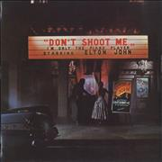 Click here for more info about 'Elton John - Don't Shoot Me - 1st - Turquoise'