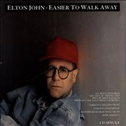 Click here for more info about 'Elton John - Easier To Walk Away'