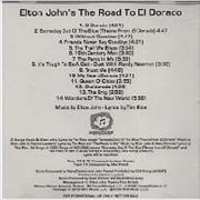 Click here for more info about 'Elton John - Elton John's The Road To El Dorado'