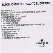 Click here for more info about 'Elton John's The Road To El Dorado'