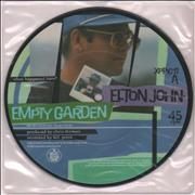 Click here for more info about 'Elton John - Empty Garden'