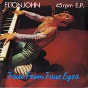 Click here for more info about 'Elton John - Four From Four Eyes EP'