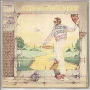 Elton John Goodbye Yellow Brick Road - Black & Blue - VG UK 2-LP vinyl set