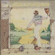 Click here for more info about 'Elton John - Goodbye Yellow Brick Road - Brown & Red'
