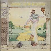 Click here for more info about 'Elton John - Goodbye Yellow Brick Road - Brown & Blue'