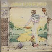 Elton John Goodbye Yellow Brick Road - Brown - VG UK 2-LP vinyl set