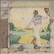 Click here for more info about 'Elton John - Goodbye Yellow Brick Road - Brown - EX'