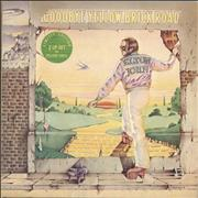 Click here for more info about 'Elton John - Goodbye Yellow Brick Road - Yellow + Sticker - EX'