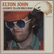 Elton John Goodbye Yellow Brick Road Germany vinyl LP