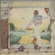 Click here for more info about 'Elton John - Goodbye Yellow Brick Road - Blue & Red'