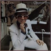 Click here for more info about 'Elton John - Greatest Hits - Brown Vinyl'