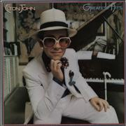 Click here for more info about 'Elton John - Greatest Hits - Greyish Red Vinyl'