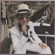 Click here for more info about 'Elton John - Greatest Hits - Translucent Vinyl - EX'