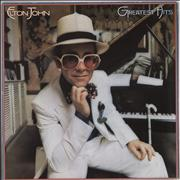 Click here for more info about 'Elton John - Greatest Hits - yellow label'