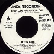 Click here for more info about 'Elton John - Grow Some Funk Of Your Own'