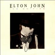 Click here for more info about 'Elton John - Ice On Fire - Autographed'