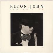 Click here for more info about 'Elton John - Ice On Fire - Sealed'