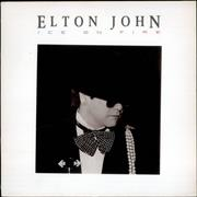 Click here for more info about 'Elton John - Ice On Fire'
