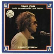 "Elton John Lady Samantha / Skyline Pigeon UK 7"" vinyl"