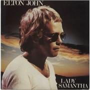 Elton John Lady Samantha UK vinyl LP