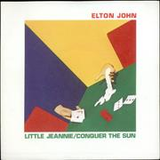 Click here for more info about 'Elton John - Little Jeannie - Picture Sleeve'