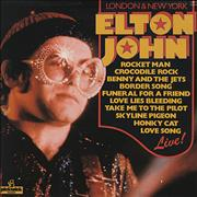 Click here for more info about 'Elton John - London & New York'