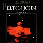 Elton John Love Songs Netherlands vinyl LP