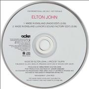 Click here for more info about 'Elton John - Made In England'