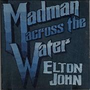 Click here for more info about 'Elton John - Madman Across The Water - 1st - Red - EX'