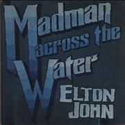 Click here for more info about 'Elton John - Madman Across The Water - 1st - Red - VG'