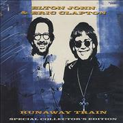 Click here for more info about 'Elton John - Runaway Train - Collector's Pack'