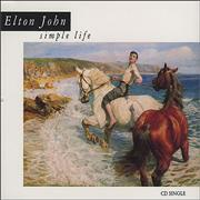 Click here for more info about 'Elton John - Simple Life'