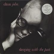 Click here for more info about 'Elton John - Sleeping With The Past - Pink stickered sleeve'