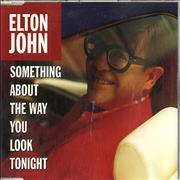 Click here for more info about 'Elton John - Something About The Way - Withdrawn - Red & White Disc'