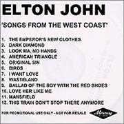 Click here for more info about 'Elton John - Songs From The West Coast'