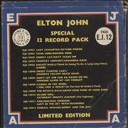 Click here for more info about 'Elton John - Special 12 Record Pack - VG/EX'
