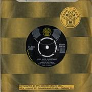 "Elton John Step Into Christmas - Translucent Vinyl UK 7"" vinyl"