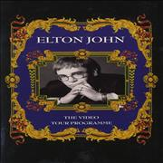 Click here for more info about 'Elton John - The Video Tour Programme'